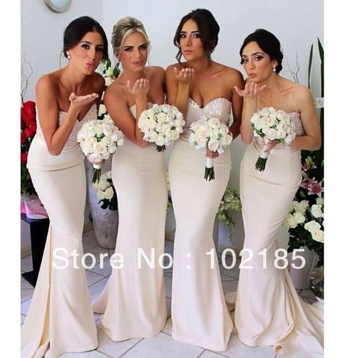 Norma Bridal Couture Ivory Wedding Party Dress Bridesmaid Dress 2014 Maid of Honor Bride Dress Free Shipping HDG6