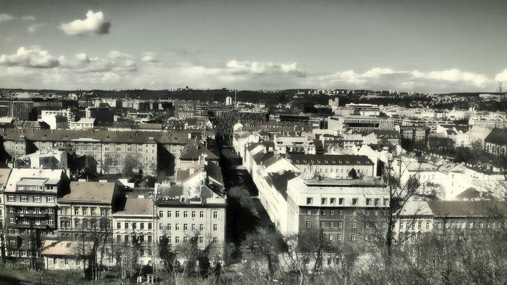 https://flic.kr/p/FGsCpF | Karlín, Prague | Pohled z vrchu Vítkov