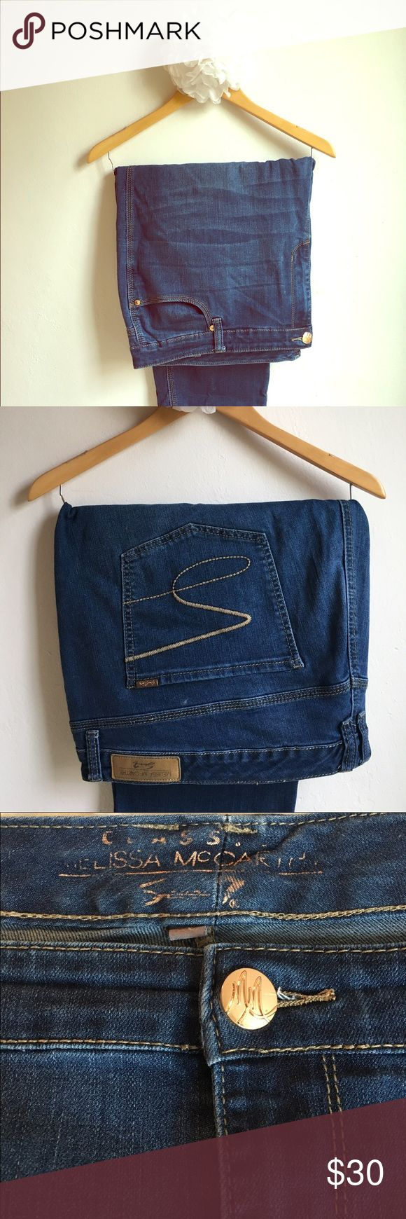 Melissa McCarthy Seven7 Jeans for Lane Bryant Melissa McCarthy Seven7 Jeans for Lane Bryant. They are a legging, so they are fitted in the leg, great for wearing with boots or heels! They are in good condition and are very comfortable! Melissa McCarthy Jeans Skinny