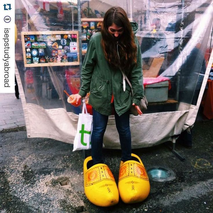 "#Repost @isepstudyabroad  ""My first trip was a 40 minute train ride from Dortmund to the border of the Netherlands. Not only did I explore a wonderful little town but I also got to try on the shoes of a giant  "" 