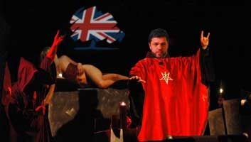 Stephen Crabb completes satanic blood oath to become new DWP secretary