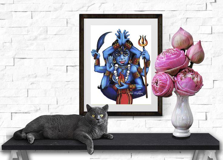 Kali's Flame, Print - Shari Mallinson
