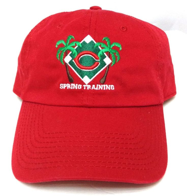 vtg CINCINNATI REDS SPRING TRAINING SARASOTA FLORIDA HAT Relaxed-Fit Men/Women #CincinnatiReds