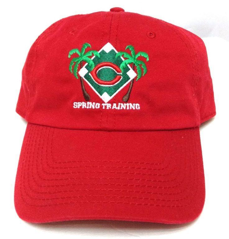 vtg CINCINNATI REDS SPRING TRAINING SARASOTA FLORIDA HAT Relaxed-Fit Men/Women #CincinnatiReds