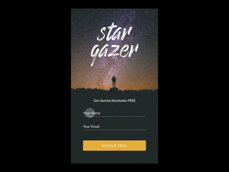 Stargazer Signup