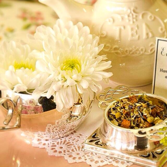 Enjoy organic herbal camomile blend tea at our Haute Couture and High Tea for Two. Visit www.mooshimode.com.au to book.