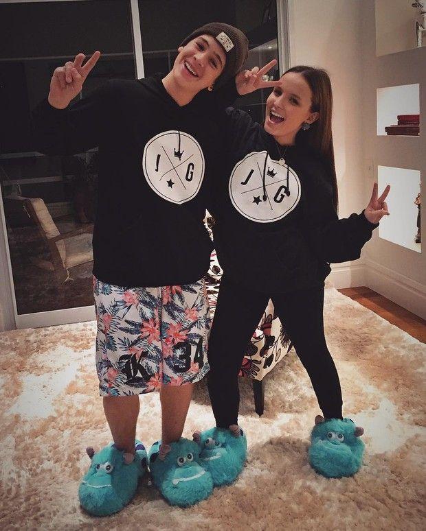 João Guilherme e Larissa Manoela (Foto: Reprodução / Instagram)