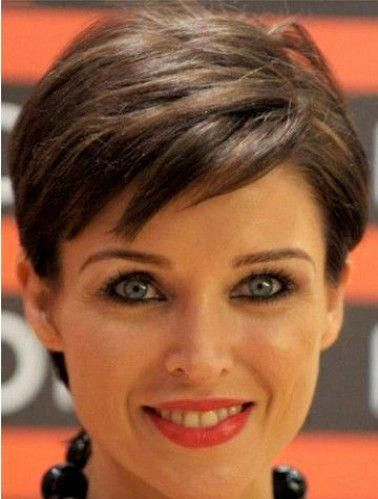Capless Dannii Minogue Pixie Haircut Wig Short Hair