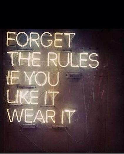 Wear it.