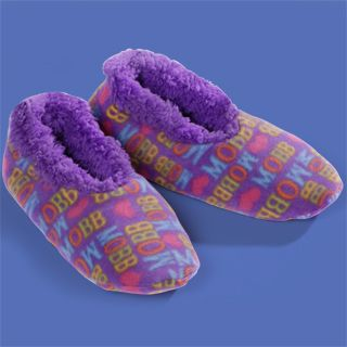 MOBB Plush LOGO Slippers