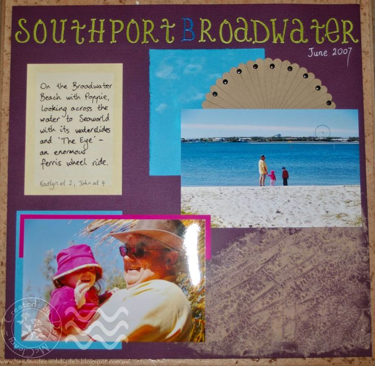 Entry into Pixels and Paper Challenge Blog for January ~ Southport Broadwater