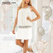 New Summer Sexy Women Casual Dress Sleeveless Slim Fashion Bodycon Party Dress…