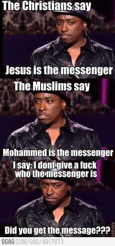 Just Eddie Griffin being awesome.
