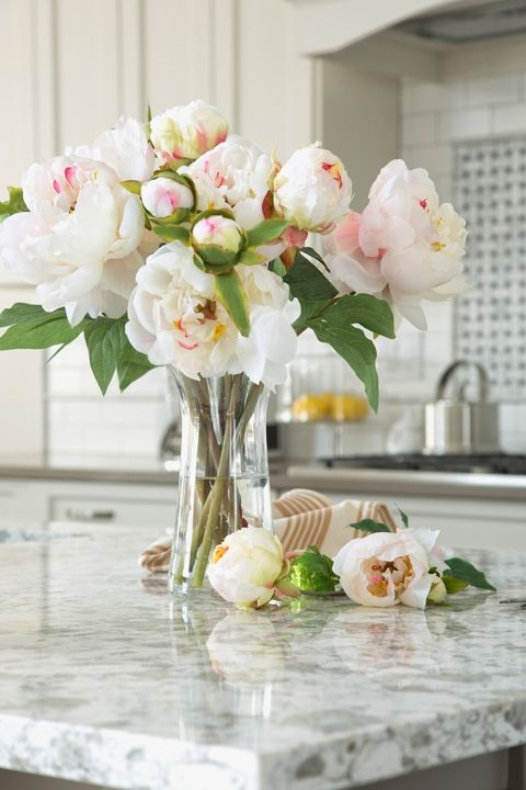 """Granite Countertops - Even though this material is in just about every kitchen these days, people are starting to favor countertops that are more versatile and low-maintenance, like quartz. """"Granite is durable, I will give it that, but it lacks the beauty of marble or the sleekness of quartz,"""" Crowell told Trulia. See other decor trends to say goodbye to in 2018 at HouseBeautiful.com."""