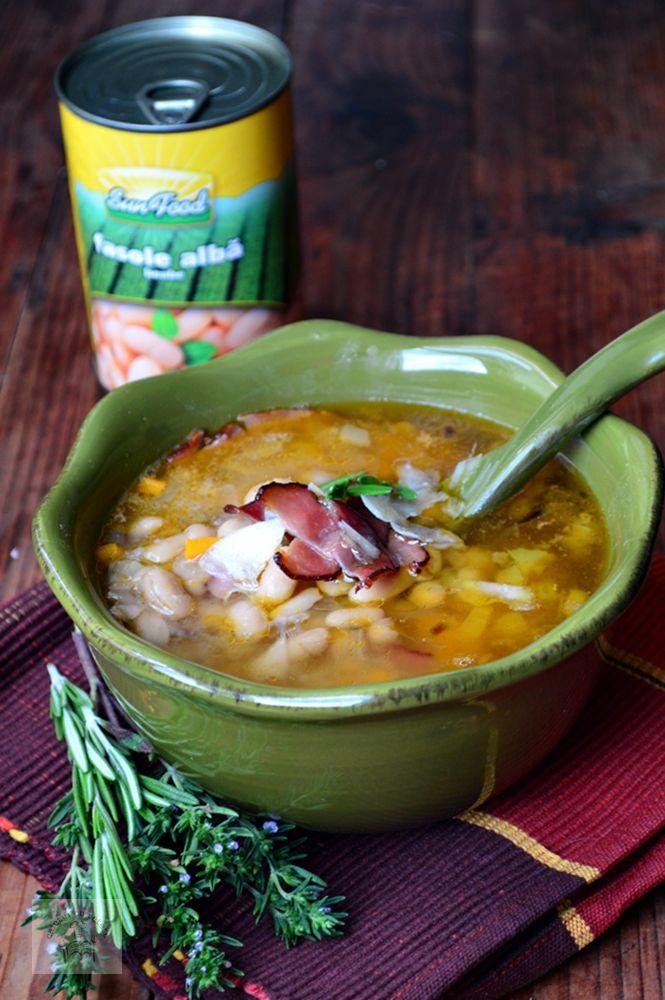 Supa toscana de fasole - CAIETUL CU RETETE