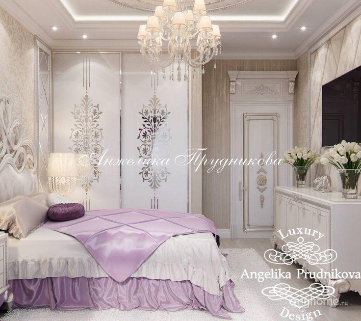 Дизайн интерьера квартиры в ЖК Дирижабль. Спальня
