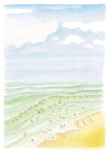 Sempé Dessin paru dans le livre ENFANCES (éditions Denoël / éditions Martine Gossieaux).