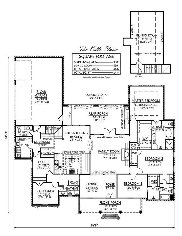 53 best floor plans images on pinterest house template for House plans for extended family