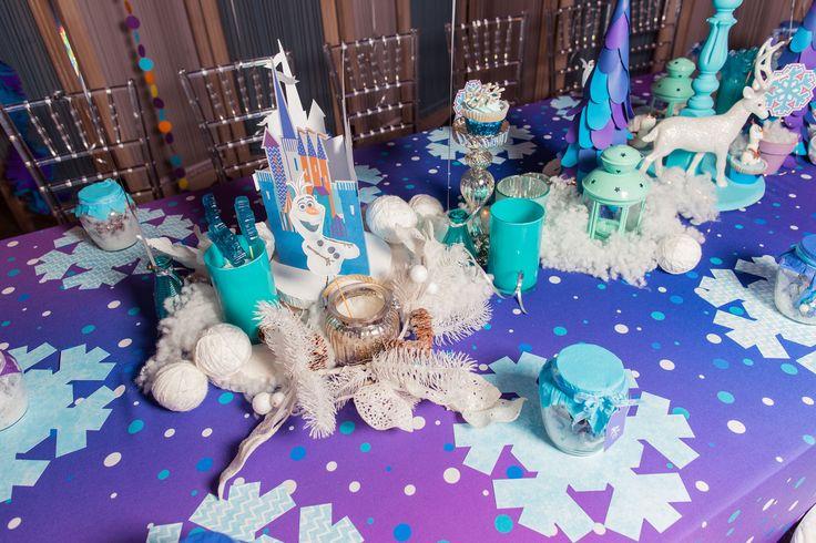 children's birthday, holiday decoration, decor, день рождения, дети, детский день рождения, оформление дня рождения, оформление детских праздников, холодное сердце, сервировка стола, снежинки, снег, зимний декор