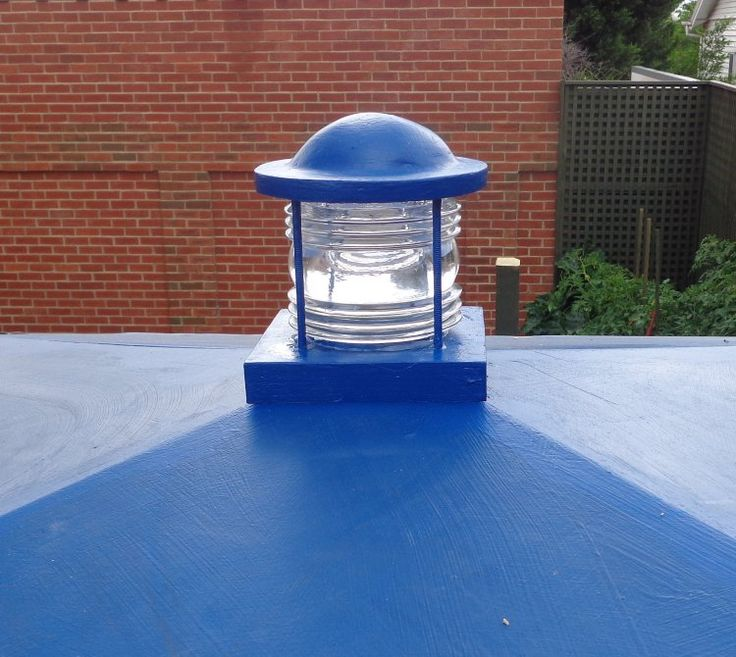 Making a TARDIS roof light