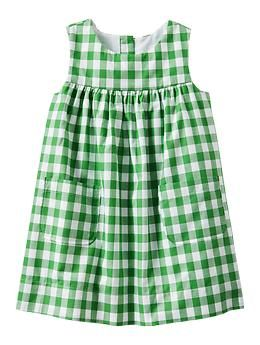 Adorable baby girl Gingham dress | Gap