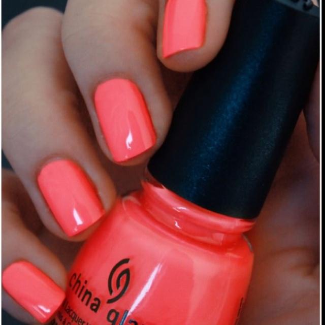 SummerNails Colors, Spring Nails, China Glaze, Nailpolish, Summer Nails, Flip Flops, Nails Polish, Summer Colors, Coral Nails
