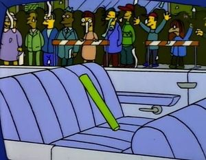 I did this Simpsons quiz (Which Character are you?) and I got Inanimate Carbon Rod. I don't know how to feel.