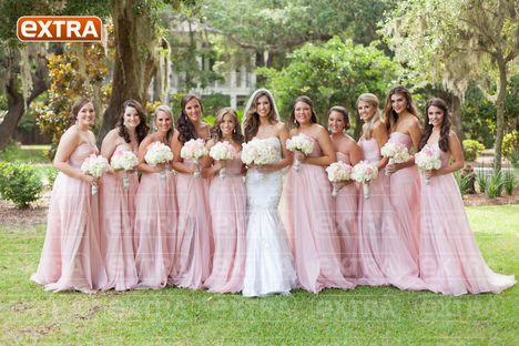 Katherine Webbs Wedding Photos