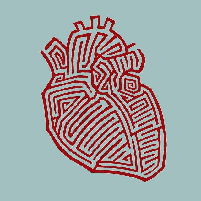 Heart Maze. by MATT MIMS,