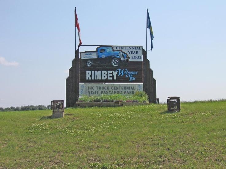 Rimbey, Alberta. Home sweet home !!