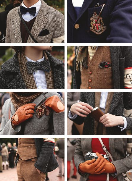 The Dead Stylists Society  - Male Fashion / Dandy / English style