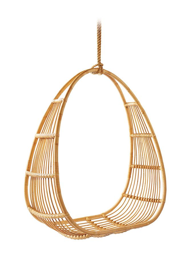 Hanging Open Back Chair from Serena & Lily: Furniture, Rugs and Lighting on Gilt