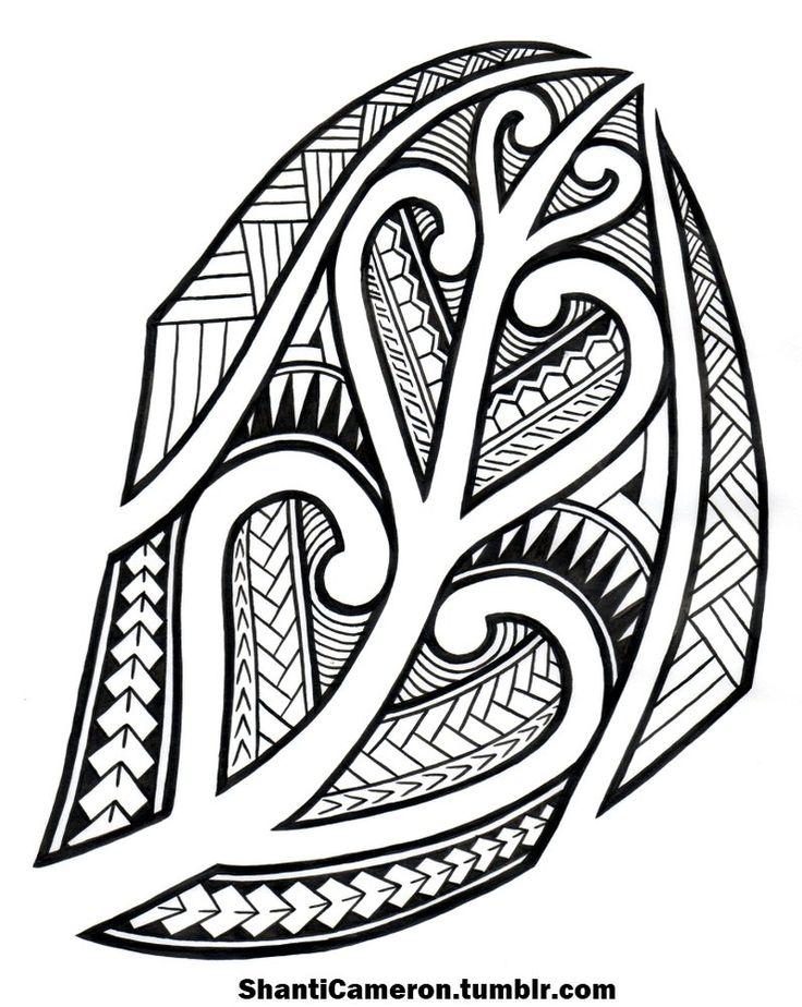 Maori Inspired Tribal by ShantiCameron