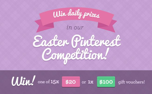Guess what friends - it's competition time! We are holding our very first ever Pinterest competition!!!