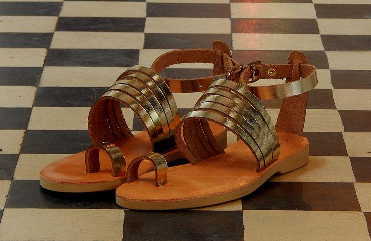 Handmade leather wedding sandal NEPHELE ...... Romba's leather sandals & bags