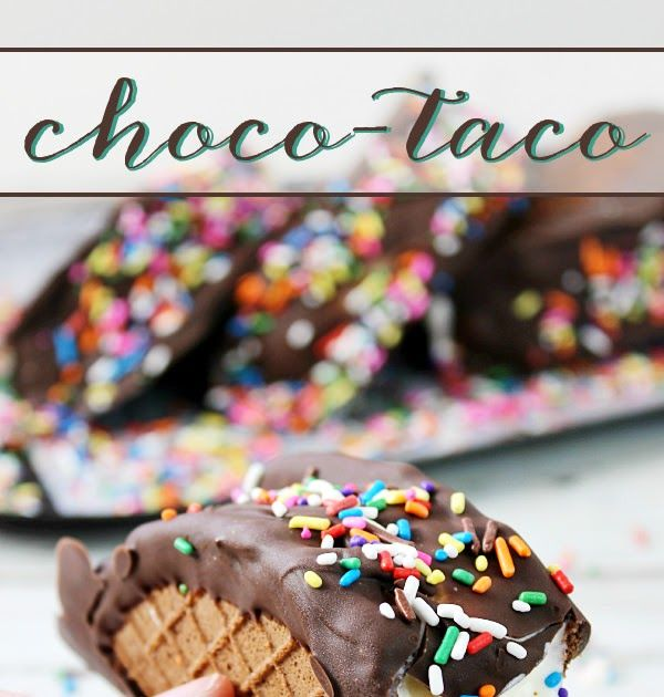 It's fun to make these Choco-Tacos at home! These homemade novely treats are easy and they're perfect for summer!