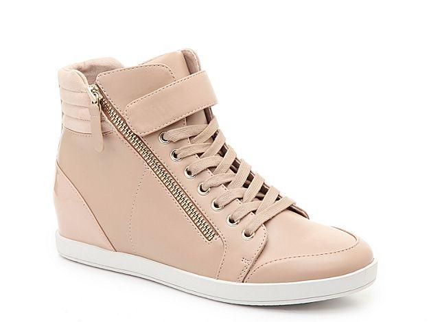 Women Gwelia Wedge Sneaker -Beige