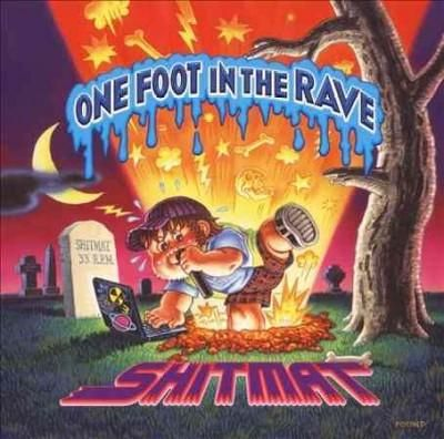 British breakcore DJ Shitmat hearkens back to the classic sounds of the 1990s early rave scene on 2009's ONE FOOT IN THE RAVE. While Shitmat's usual penchant for aggressive onslaughts of jungle and dr
