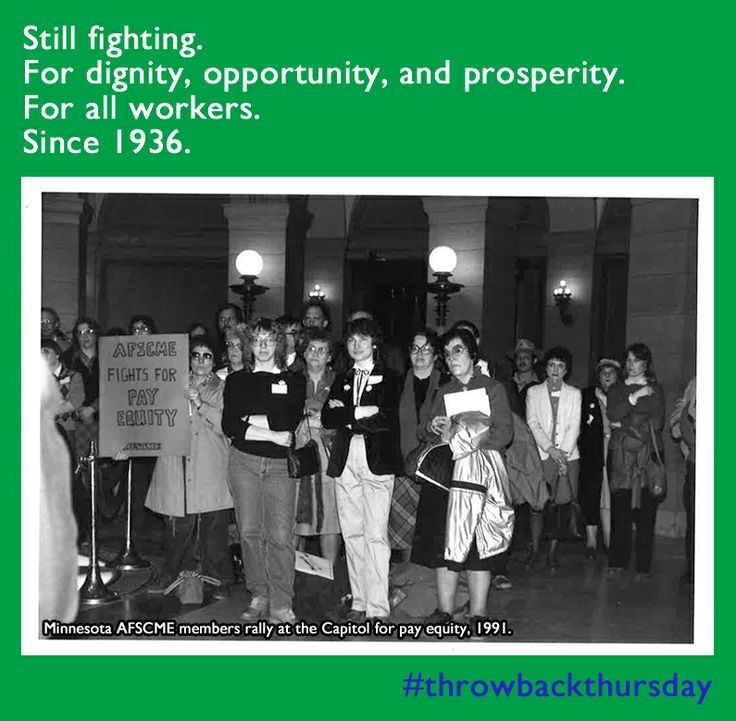 Fighting for women's rights in the workplace since 1936.