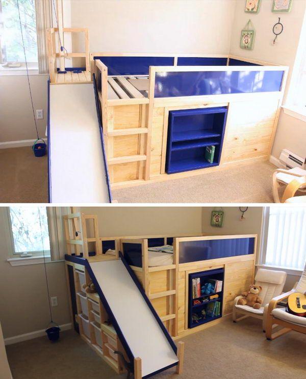 Cool Diy Kids Bunk Bed Ideas And Tutorials Toddler Bunk Beds