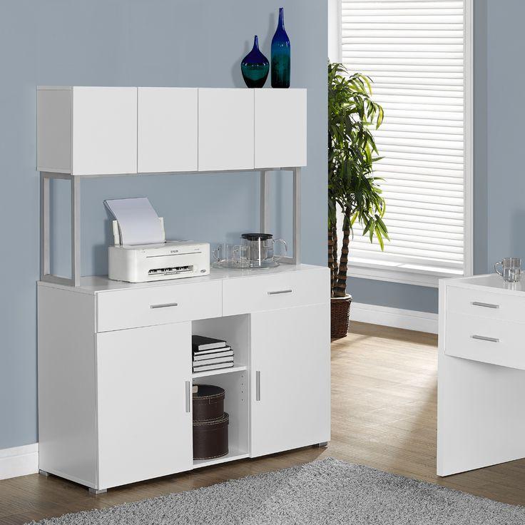 Lauren Monarch Office Storage Credenza White Furniture