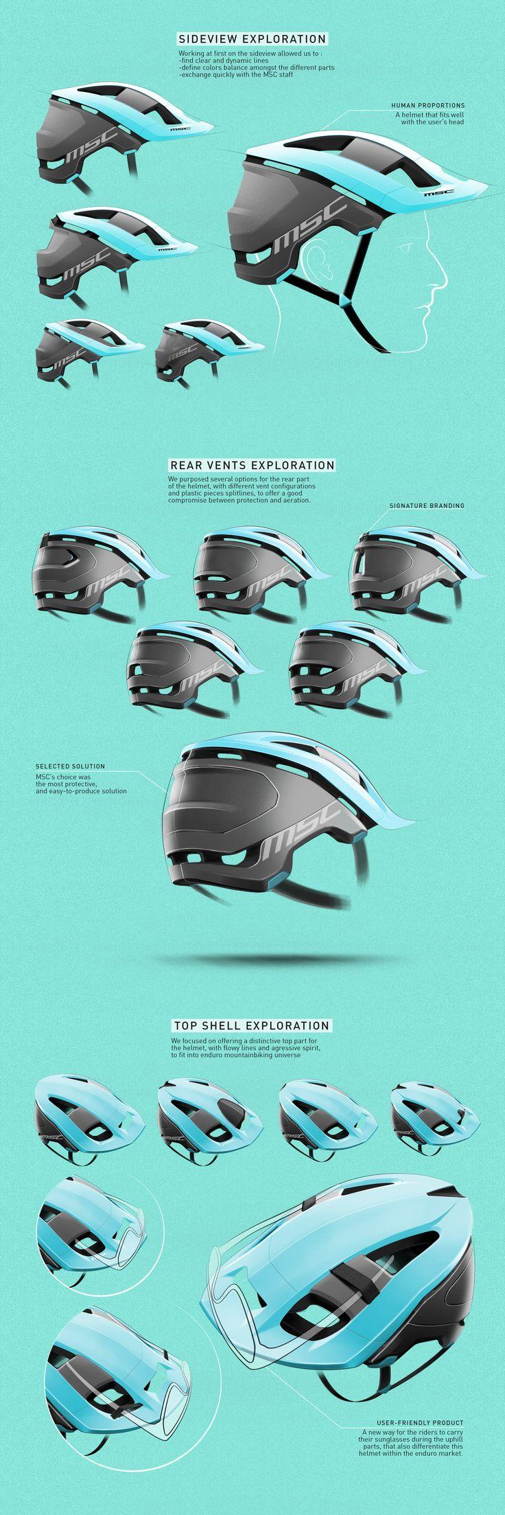 MSC Helmet on Behance