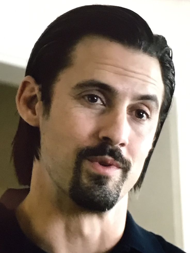 Milo Ventimiglia aka Middle age Jack ❤️ this pic I took of him on 📺  * This Is Us Season Finale 3/14/17