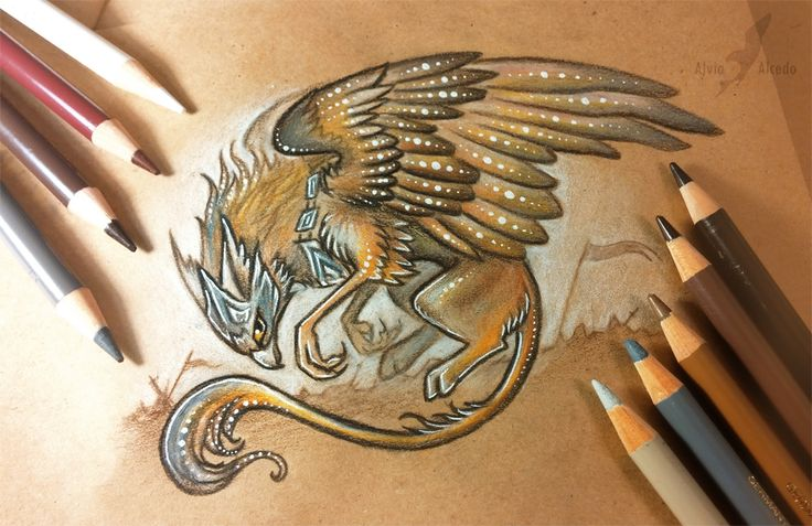 Battle gryphon by AlviaAlcedo.deviantart.com on @DeviantArt