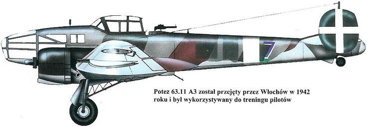 Potez 63/630/631/633/637 | Italy (fascists) | Potez 63.11 A3 | 7