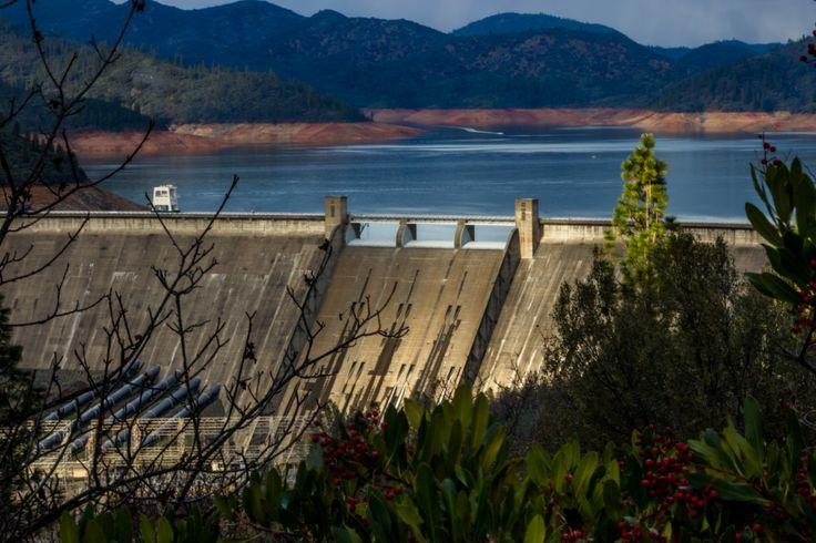 Shasta Dam by MarniePatchett on Etsy