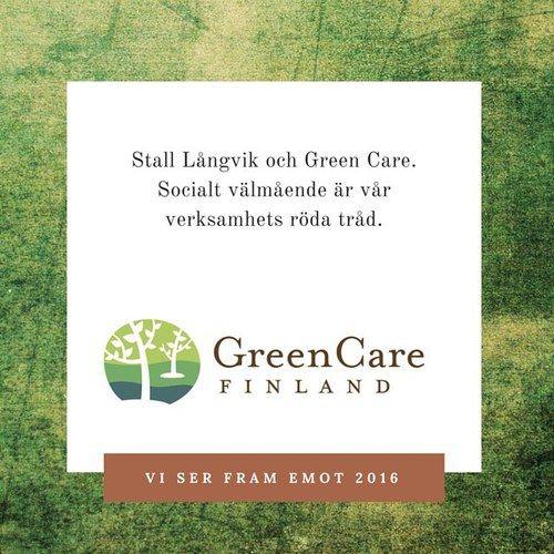 Green Care  Grön omsorg  Bakom kulisserna har vi under hösten 2015 tagit ett steg närmare Green Care Finland och vår medverkan kan ses som ett trappsteg i kvalitetsarbetet där stallets och ridskolans sociala profilering och tjänster inom socialt välmående formas. Mer om Green Care under våren 2016.  #greencare #grönomsorg #hallbarutveckling #tillsammansärvistarkare #hyvinvointialuonnosta  @hevostoiminta_laukki @blopblipblop @birdmountainfarm #serframemot2016
