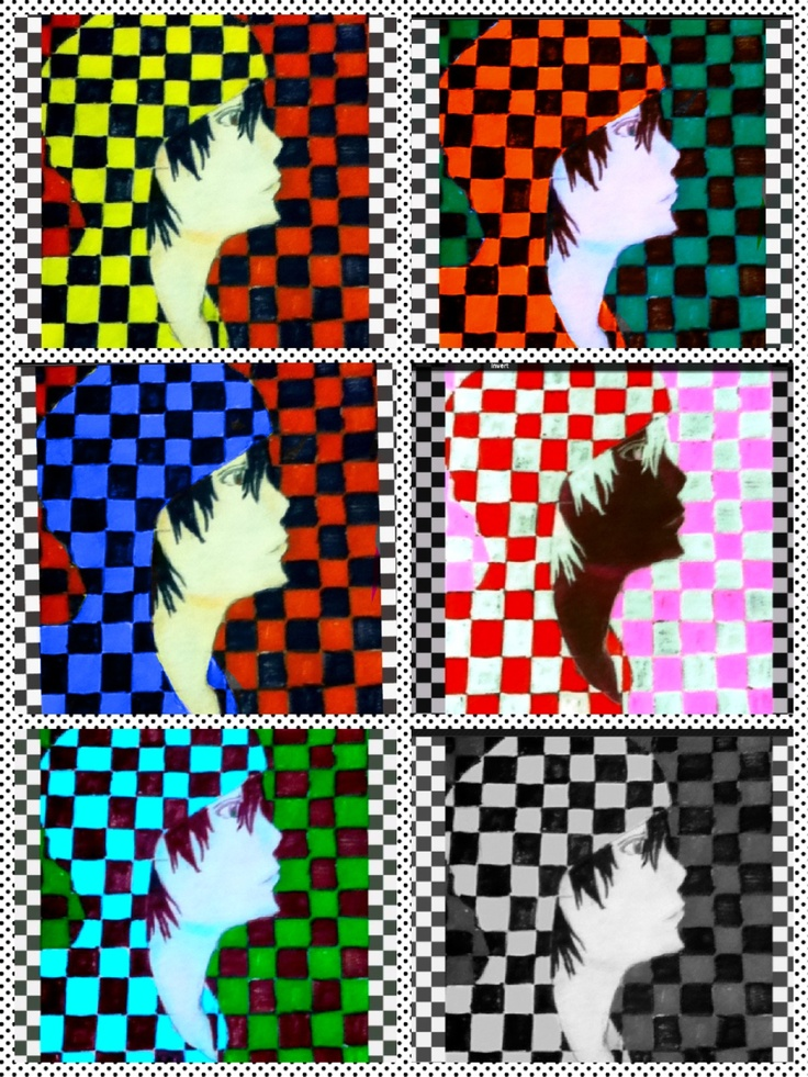 Colorful Checker Anime Pictures To Draw Manga Anime Anime