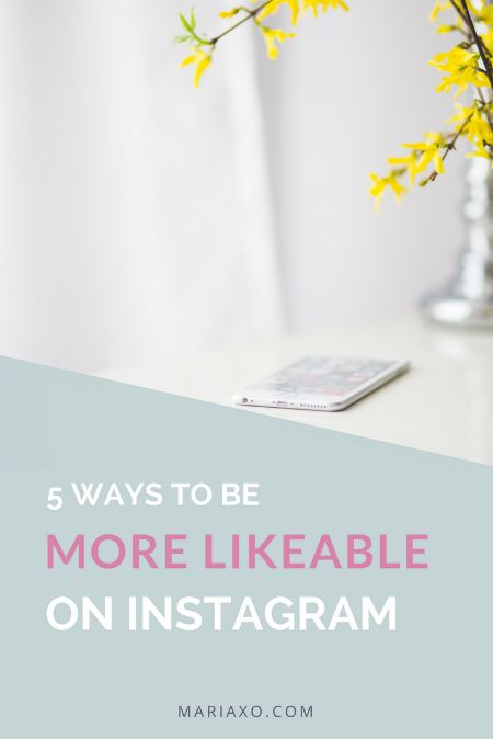 5 ways to be more likeable on Instagram