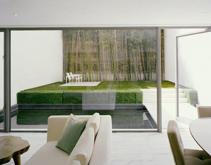 modern garden - Living Gardens Landscape Design